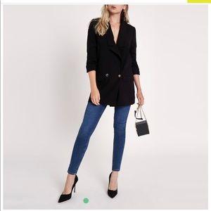 Black blazer/blazer dress